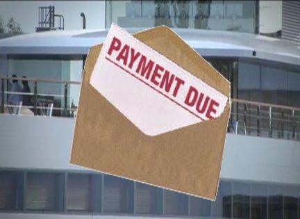 Steve Jobs' yacht impounded