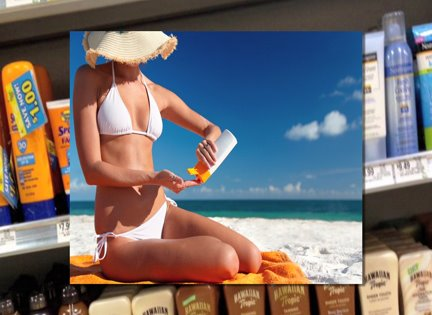 Wearing sunscreen everyday slows the aging process