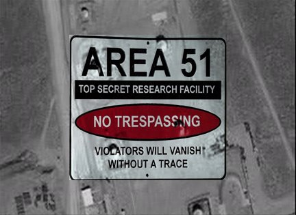 Government talks about Area 51
