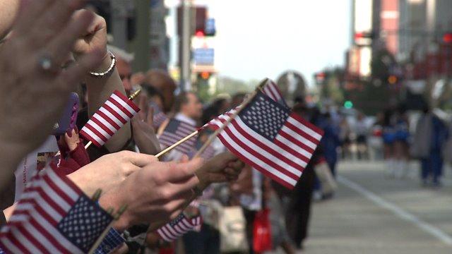 Houston salutes American heroes