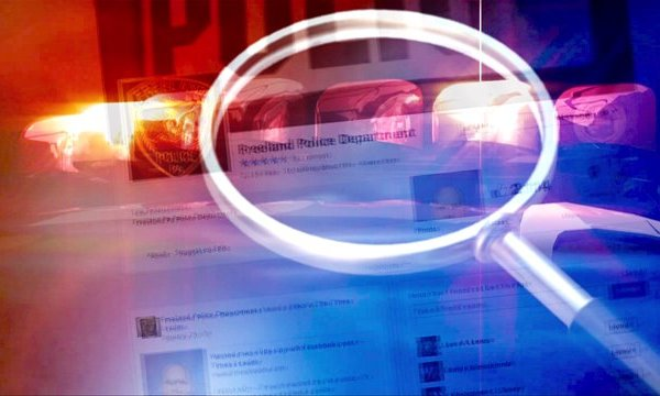 Man shares police Facebook status about himself