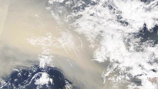 Saharan dust could affect hurricanes