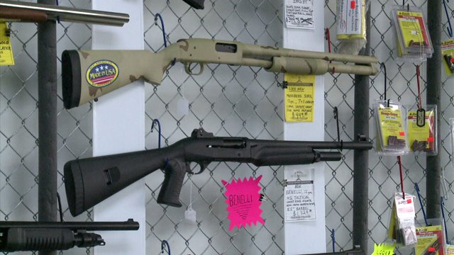 Gun store owners closing shop after declining sales