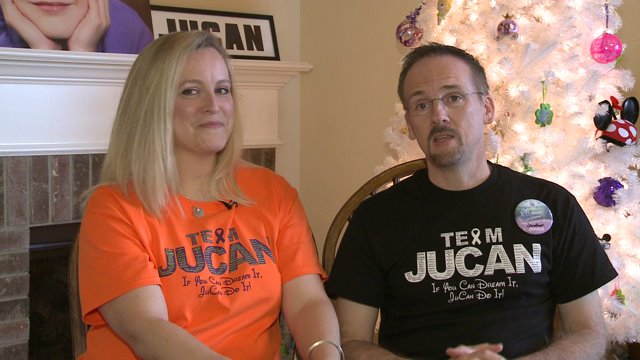 Houston family to walk from Disneyland to Disney World in memory of daughter