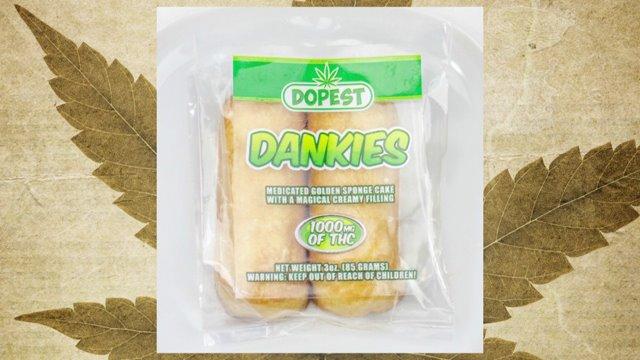 Dankies: Twinkies with a THC twist