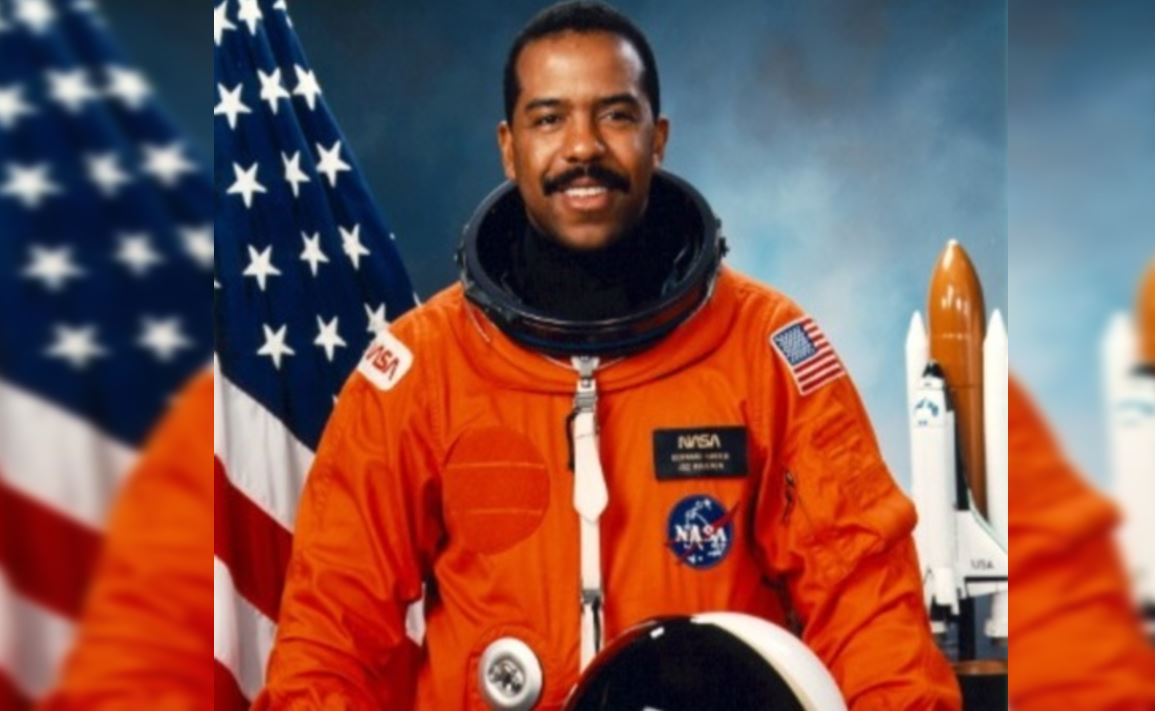 who was the first african american to go to space