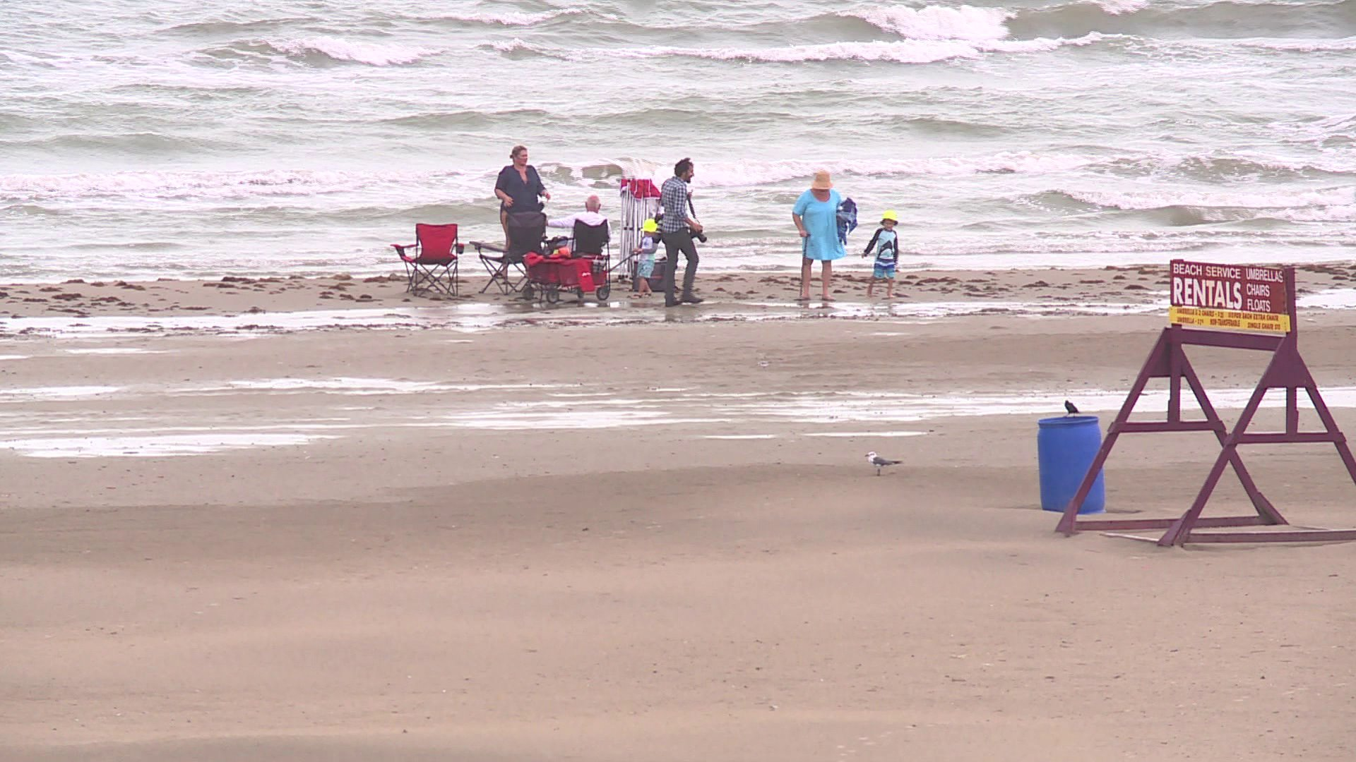It S Not Always Safe To Swim At Galveston Beaches Research Says