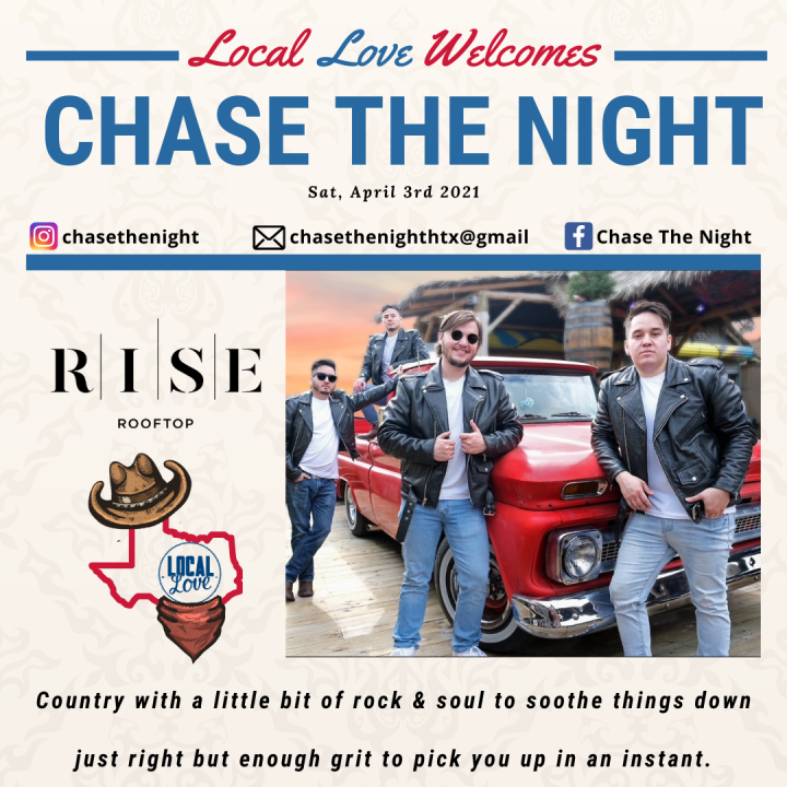 "RISE Rooftop shows ""Local Love"" for Rodeo Houston featuring Chase the Night"