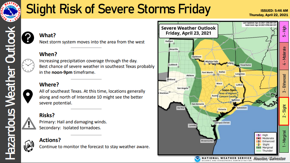National Weather Service monitoring strong to severe ...