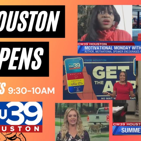 Houston Happens - Motivational Monday, Mental Health Awareness and Happy Camping