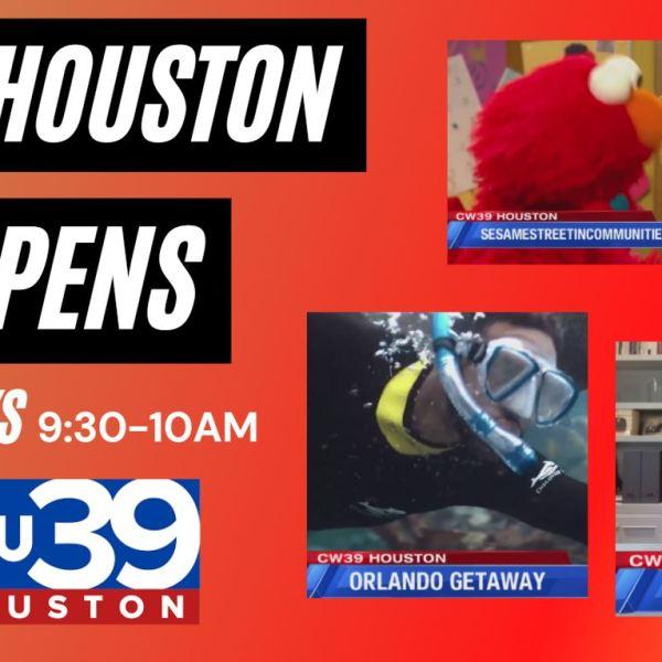 Houston Happens weekdays at 9:30am on CW39 Houston