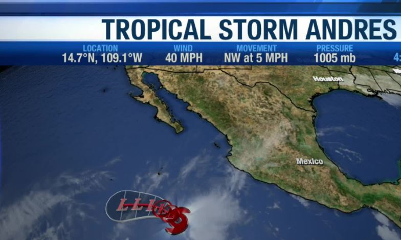 Tropical Storm Andres