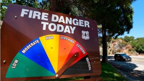 Heatwave fire danger, Getty Images
