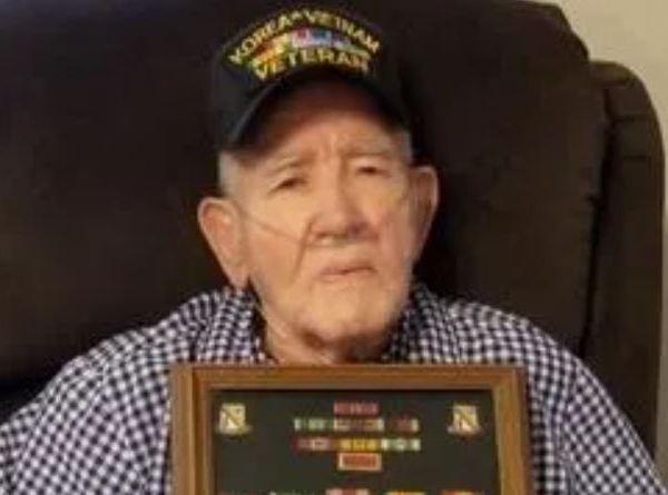 90 year old veteran Harold Lloyd Eaton