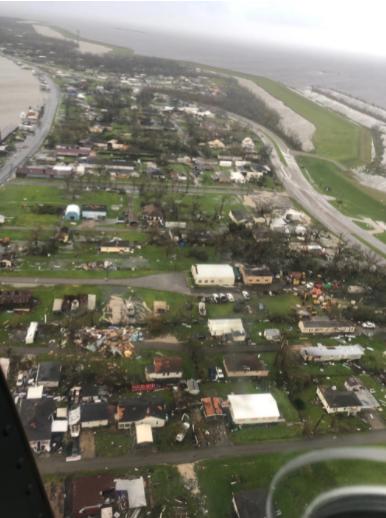 Hurricane IDA overflight