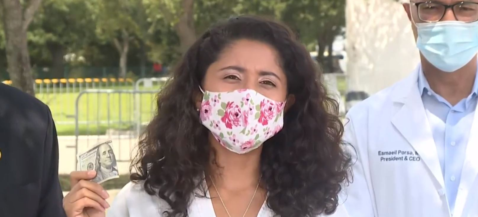 Harris County Judge Lina Hidalgo offering $100 for who get vaccinated.