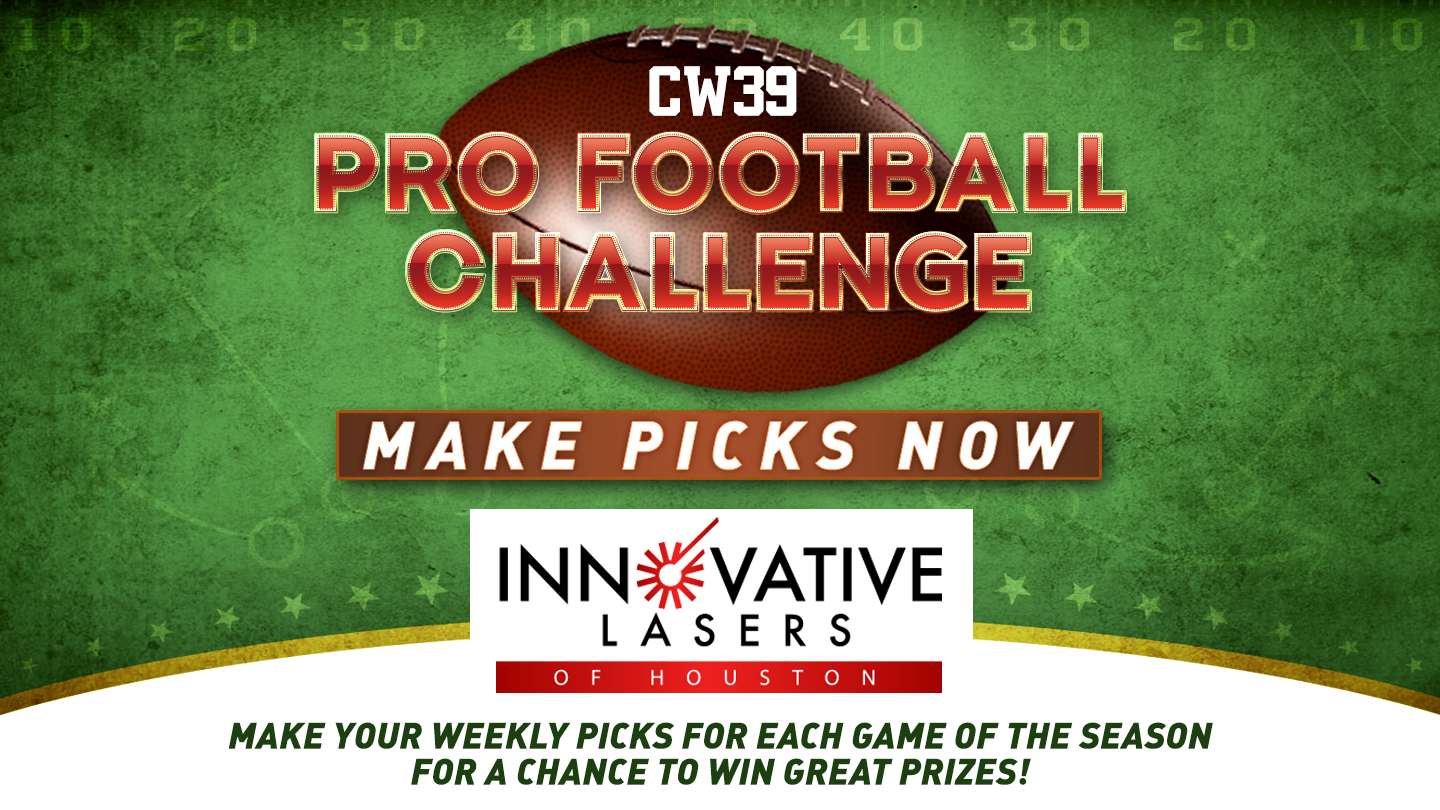 Pro Football Challenge begins today on CW39 Houston   CW39