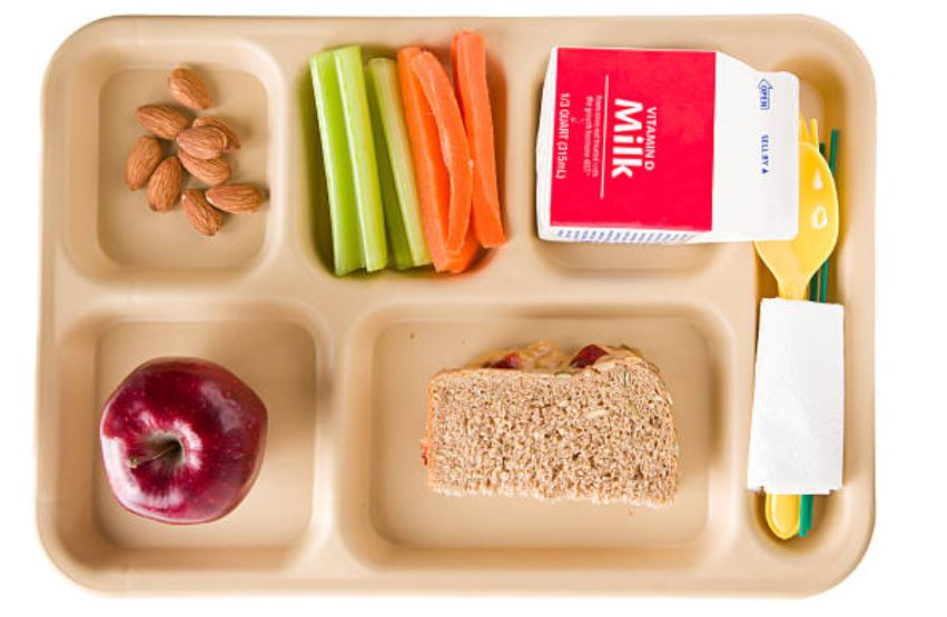 School lunch. Getty Images