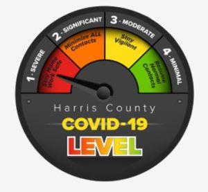 Harris County COVID-19 threat level
