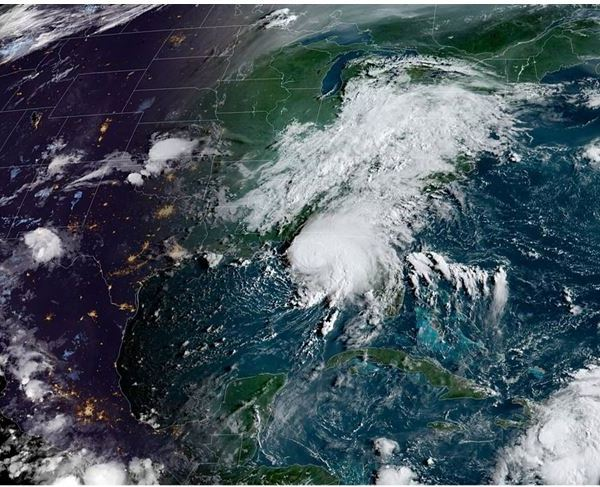 NOAA. Tropical Storm Grace