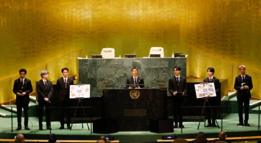 BTS at UN (Getty Images)