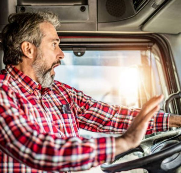 Truck driver. Getty Images