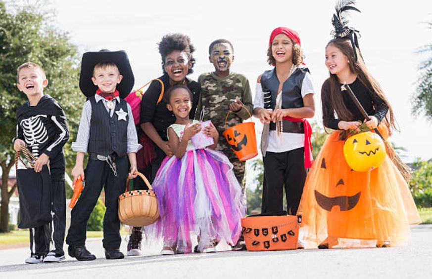 Halloween kids. Getty Images