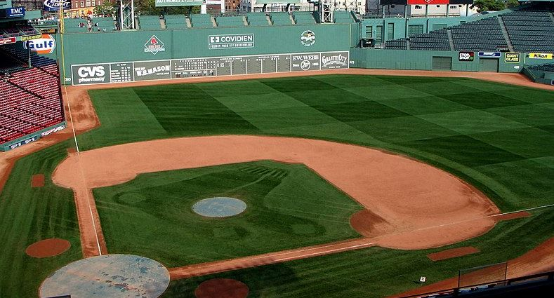Fenway Park. WikiCommons free repository